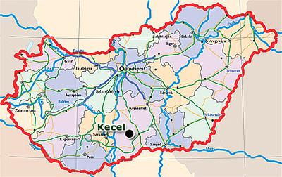kecel térkép Közép Magyarországi Pincegazdaság Kft. kecel térkép